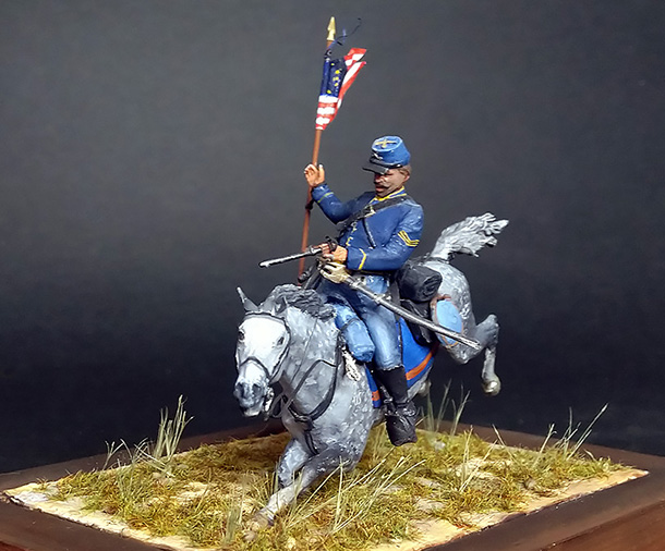 Figures: US Cavalryman, 1863