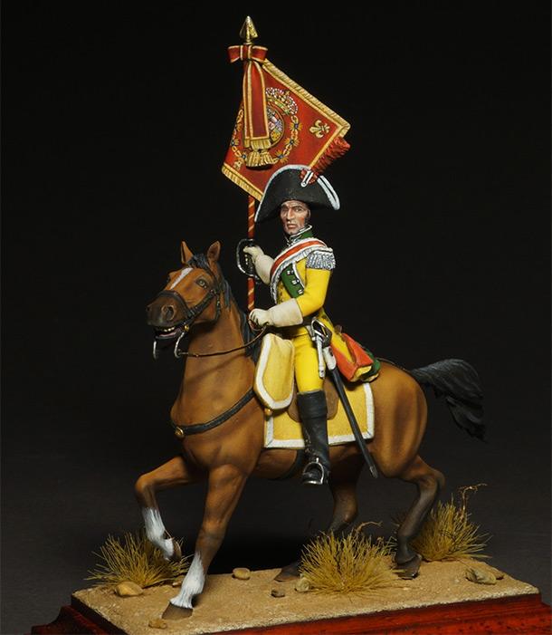 Figures: Standard bearer, Villaviciosa dragoons