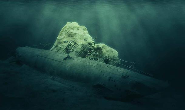 Dioramas and Vignettes: U-boot Type IIB. Undersea war