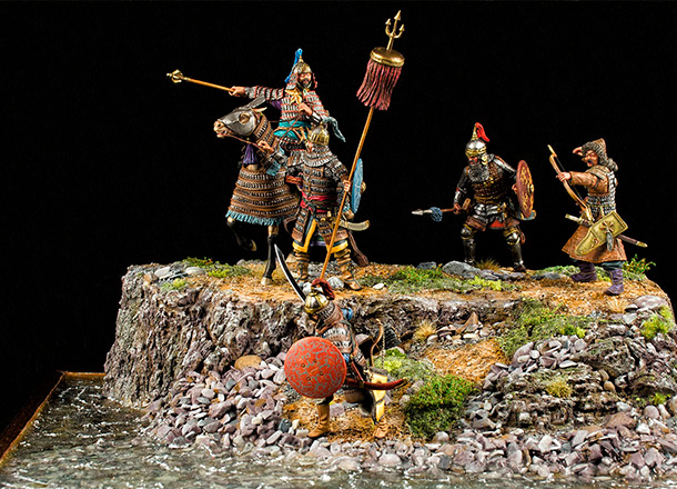 Dioramas and Vignettes: The Mongols