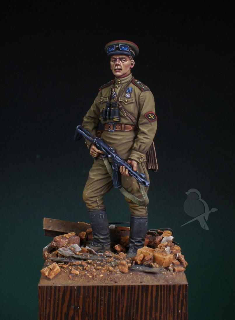 Figures: Senior lieutenant, AT artillery, photo #1