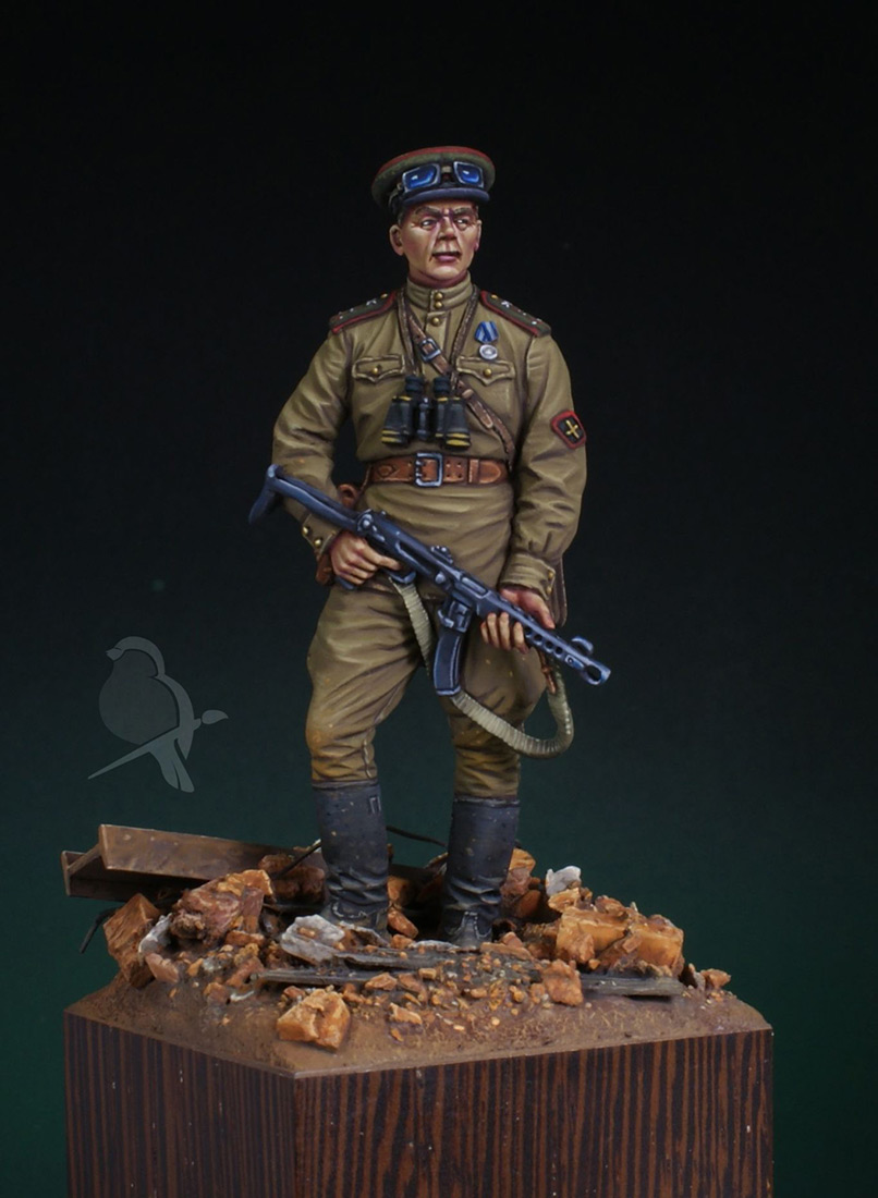 Figures: Senior lieutenant, AT artillery, photo #2