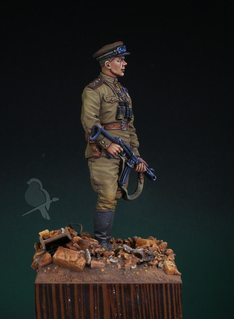 Figures: Senior lieutenant, AT artillery, photo #3