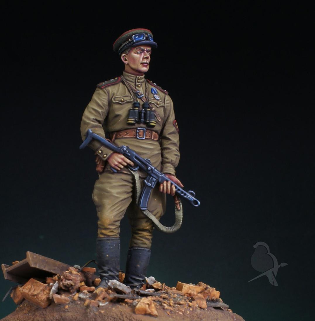 Figures: Senior lieutenant, AT artillery, photo #6