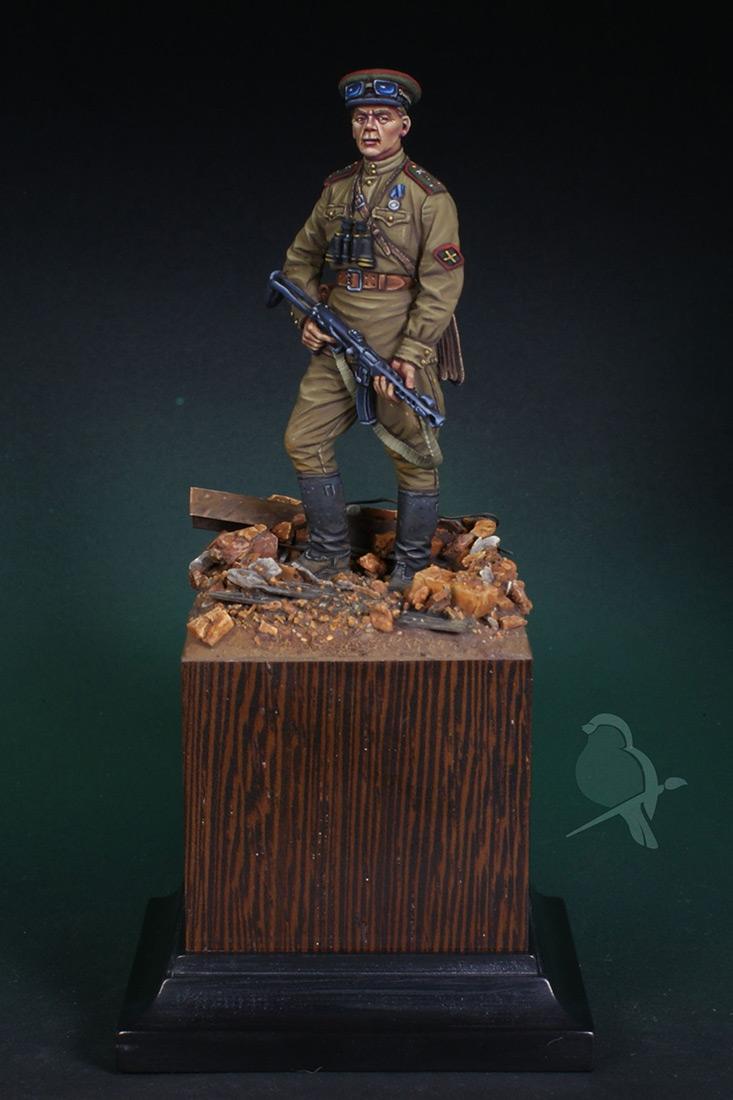 Figures: Senior lieutenant, AT artillery, photo #7