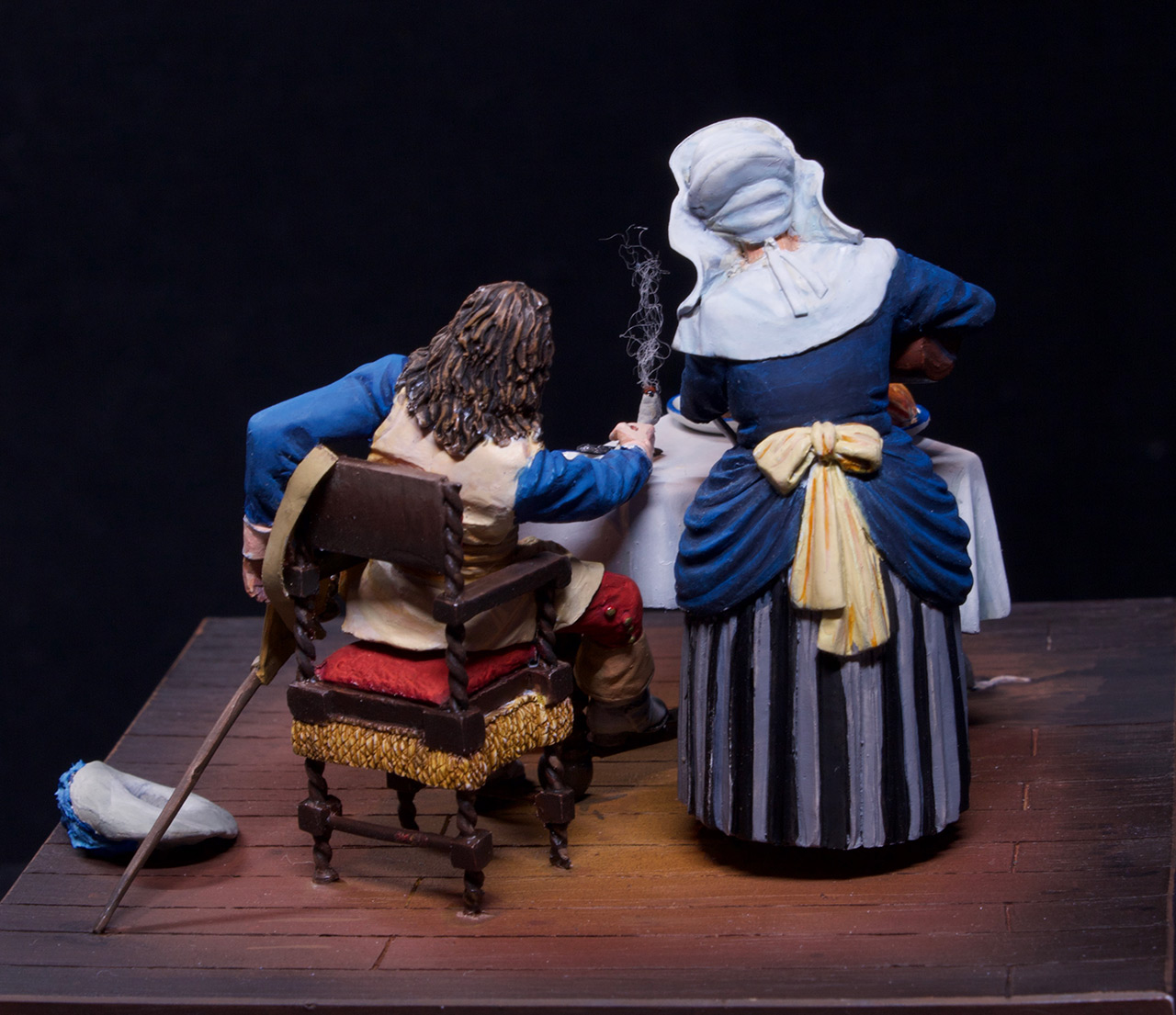 Dioramas and Vignettes: Waitress and cavalier, photo #10