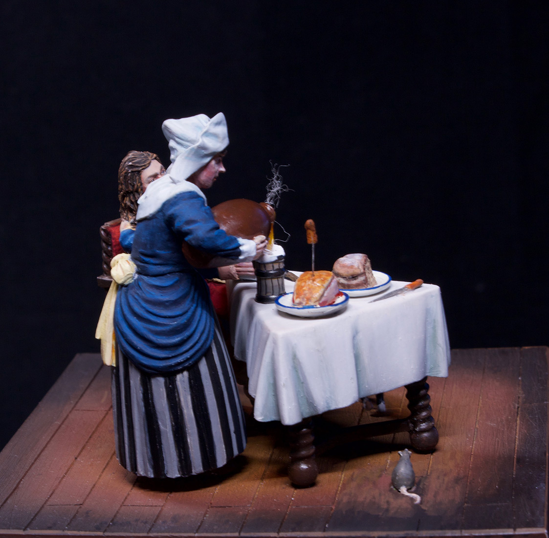 Dioramas and Vignettes: Waitress and cavalier, photo #13