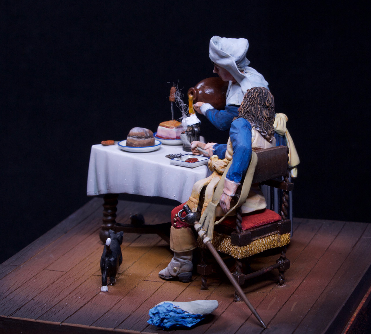 Dioramas and Vignettes: Waitress and cavalier, photo #14