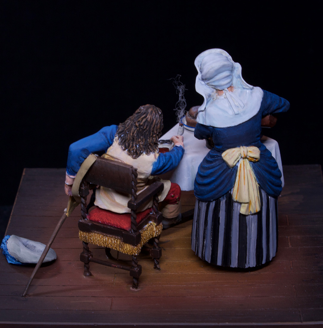 Dioramas and Vignettes: Waitress and cavalier, photo #16