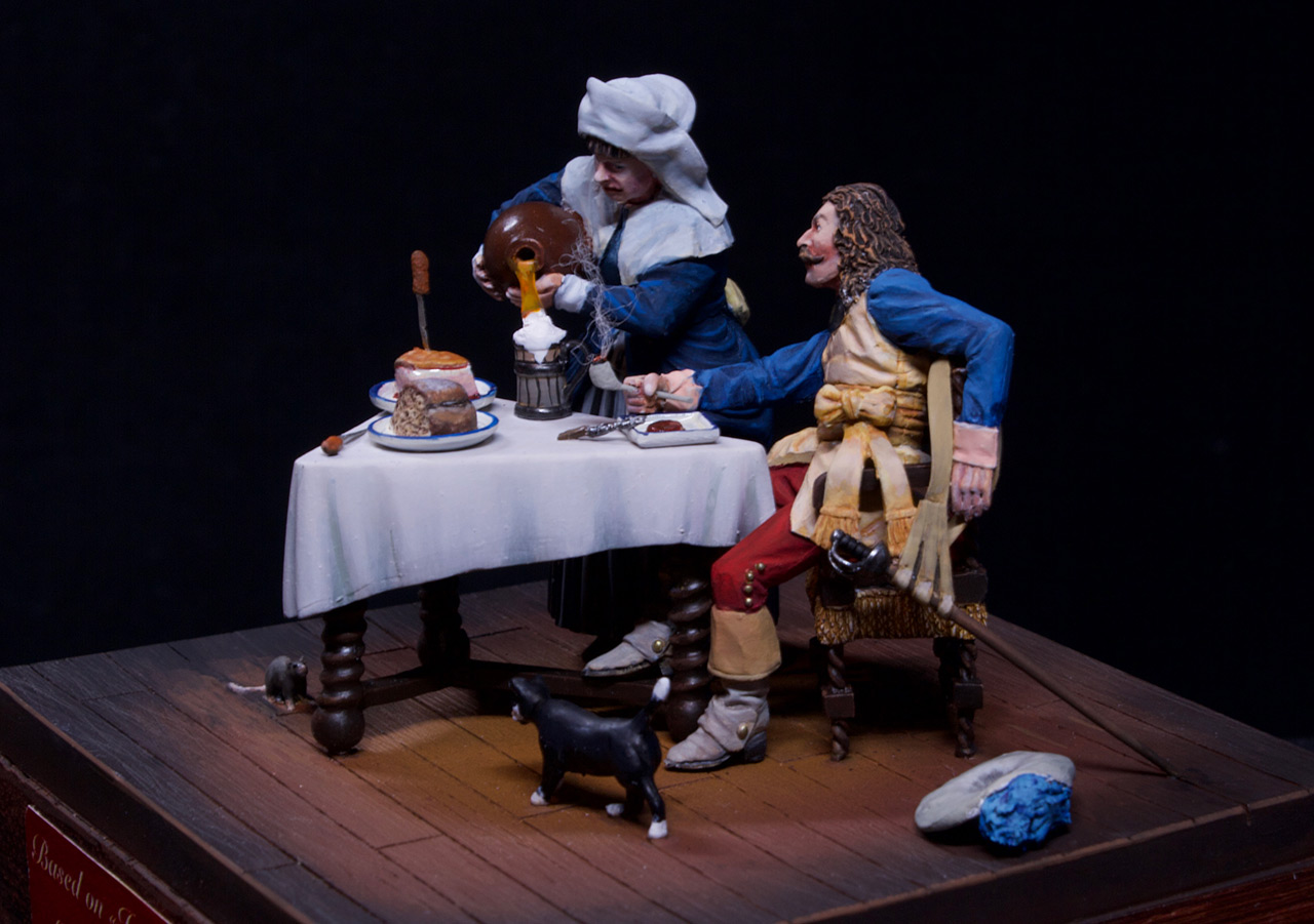 Dioramas and Vignettes: Waitress and cavalier, photo #5