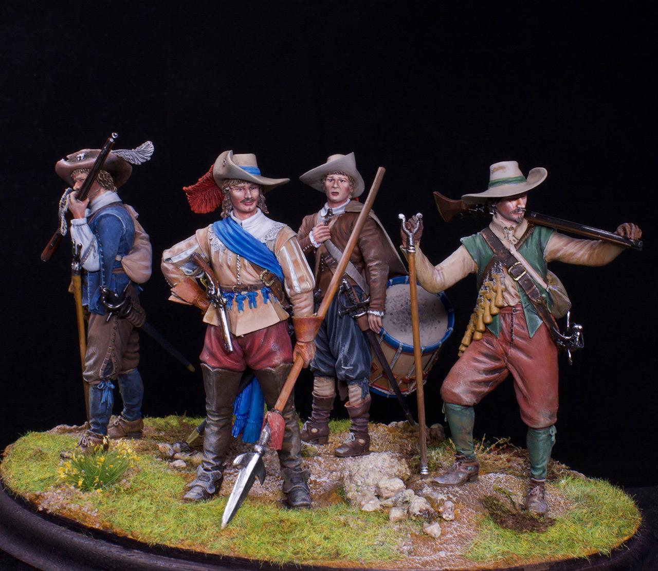Figures: Musketeers, 1630, photo #3