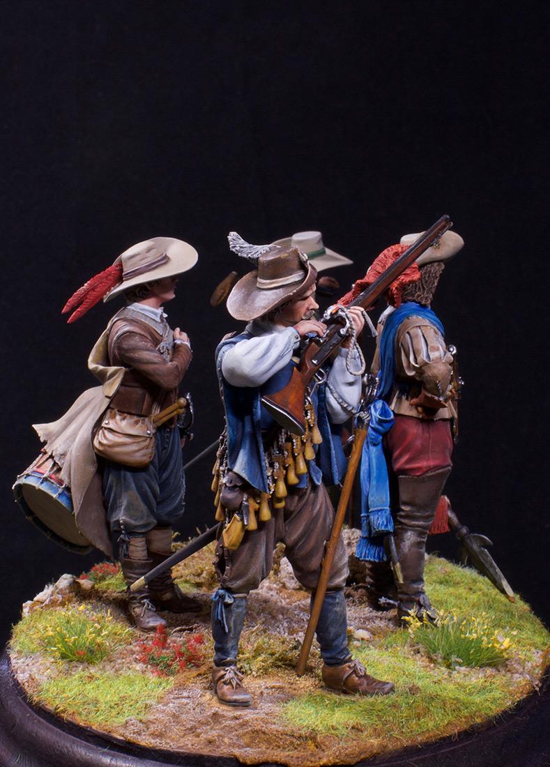 Figures: Musketeers, 1630, photo #5