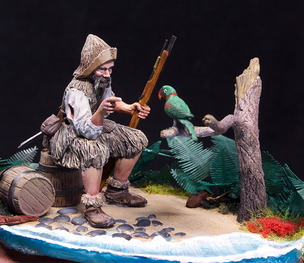Dioramas and Vignettes: Sailor from York