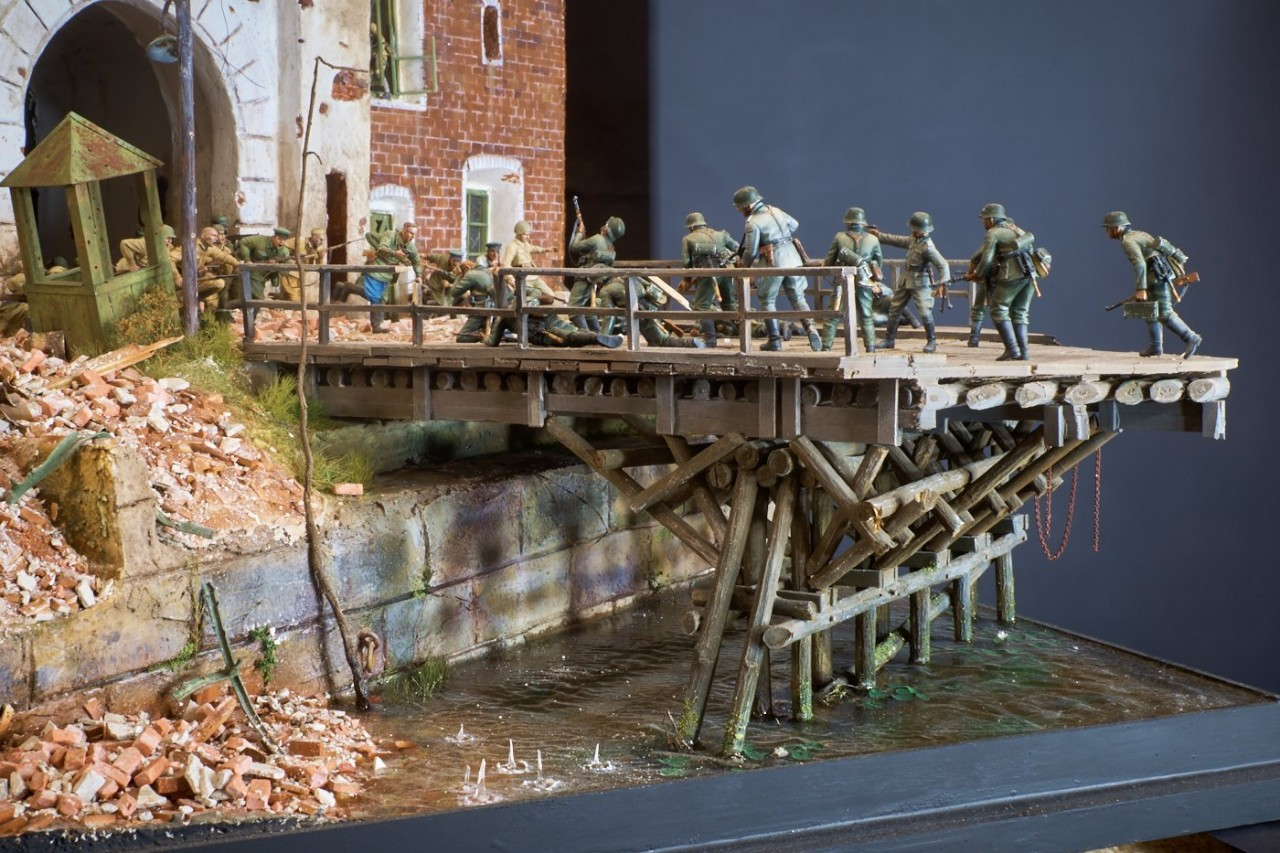 Dioramas and Vignettes: Defenders of the Fortress, photo #11