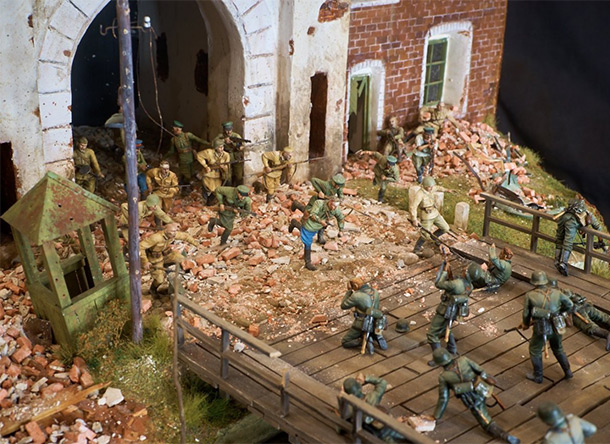 Dioramas and Vignettes: Defenders of the Fortress