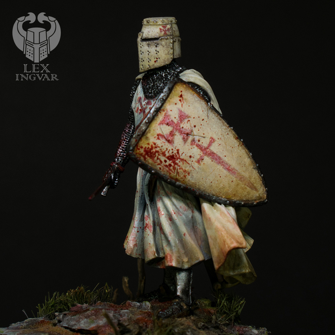 Figures: Livonian knight, 1236, photo #3