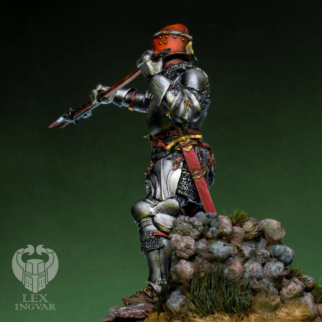 Figures: Italian condotier, Burghundian knight, photo #9
