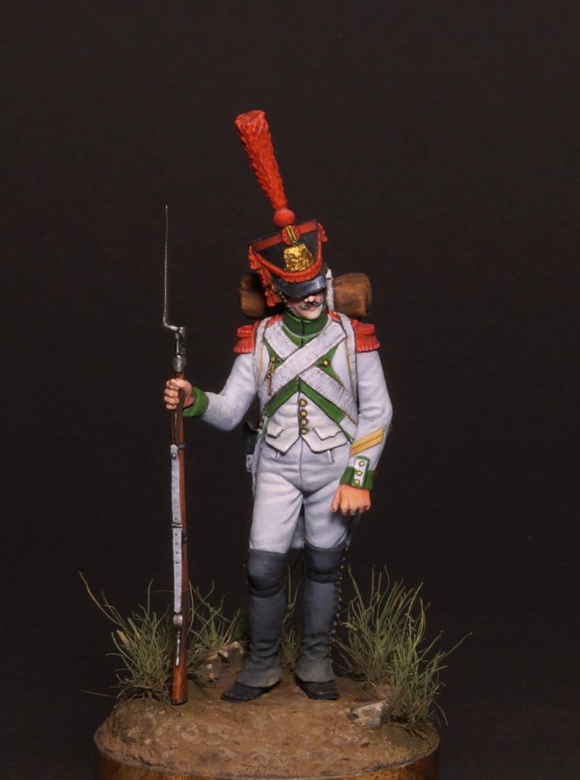 Figures: Grenadiers corporal, Joseph Napoleon regt., photo #1
