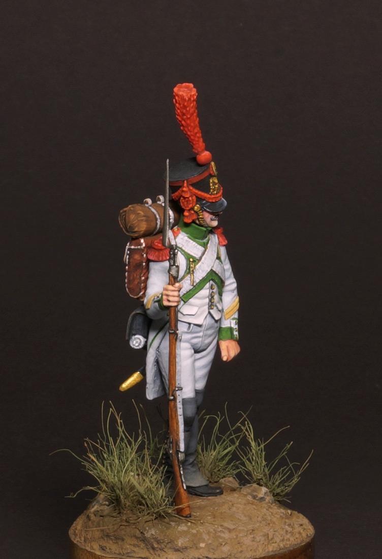 Figures: Grenadiers corporal, Joseph Napoleon regt., photo #2