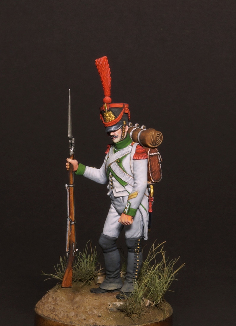 Figures: Grenadiers corporal, Joseph Napoleon regt., photo #6