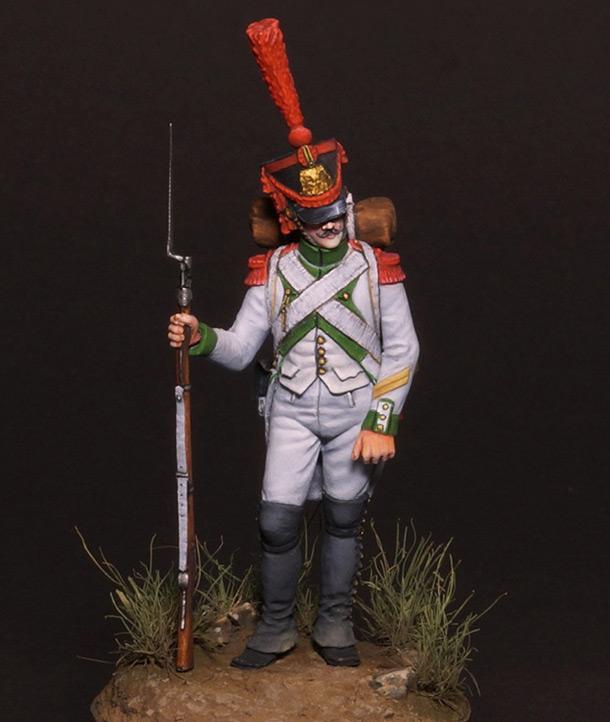 Figures: Grenadiers corporal, Joseph Napoleon regt.