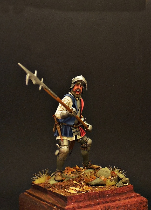 Figures: European infantryman, XV cent., photo #9