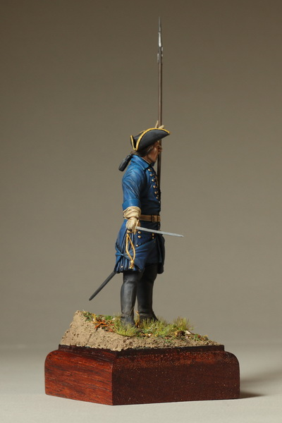 Figures: Swedish infantry officer, 1700-1721, photo #5