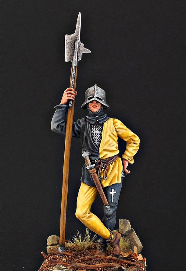 Figures: Swiss warrior, 15th cent.