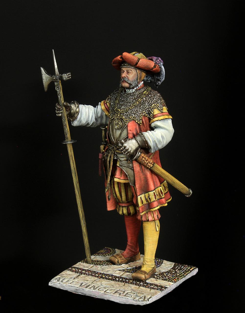 Figures: Landsknechts captain, photo #2