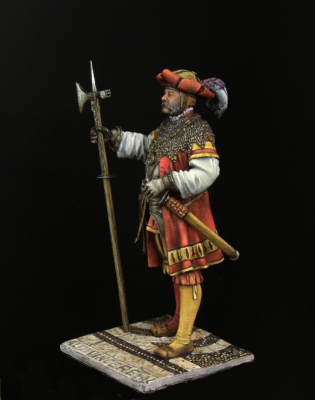 Figures: Landsknechts captain, photo #3