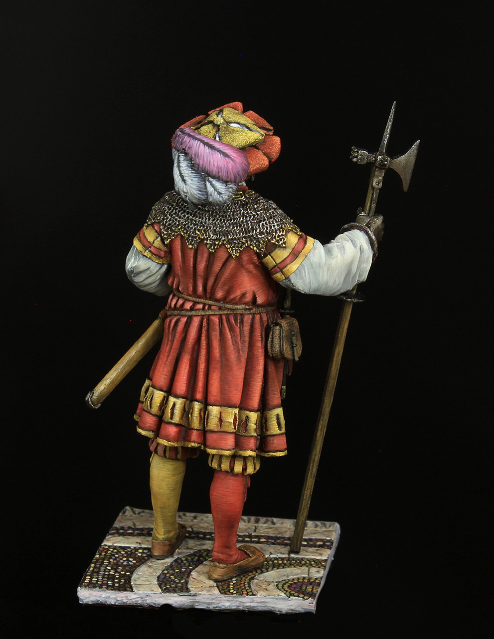 Figures: Landsknechts captain, photo #4