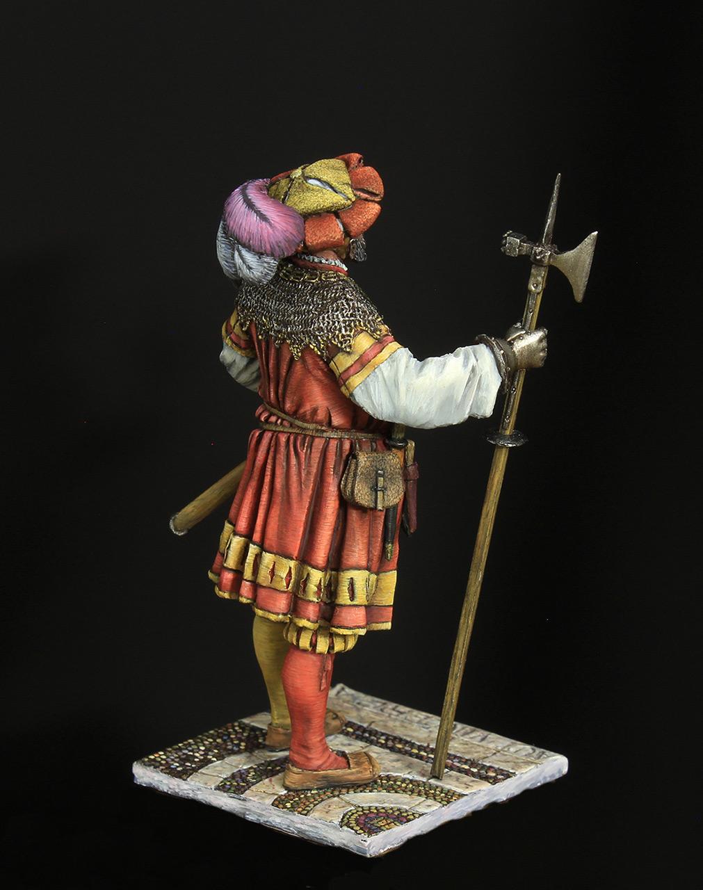 Figures: Landsknechts captain, photo #5