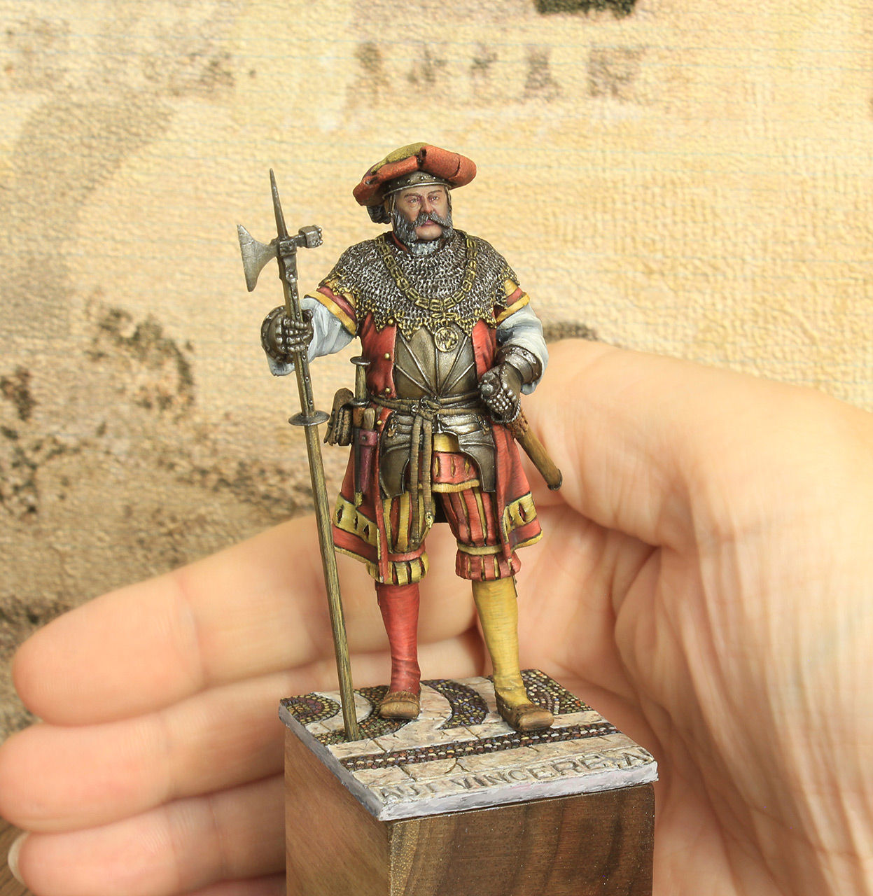 Figures: Landsknechts captain, photo #7