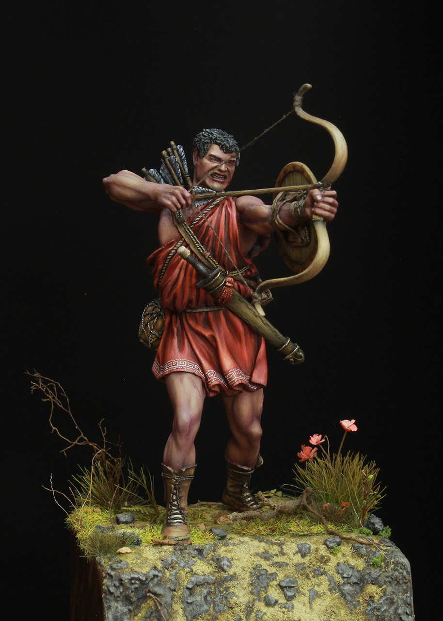 Figures: Greek archer, photo #2