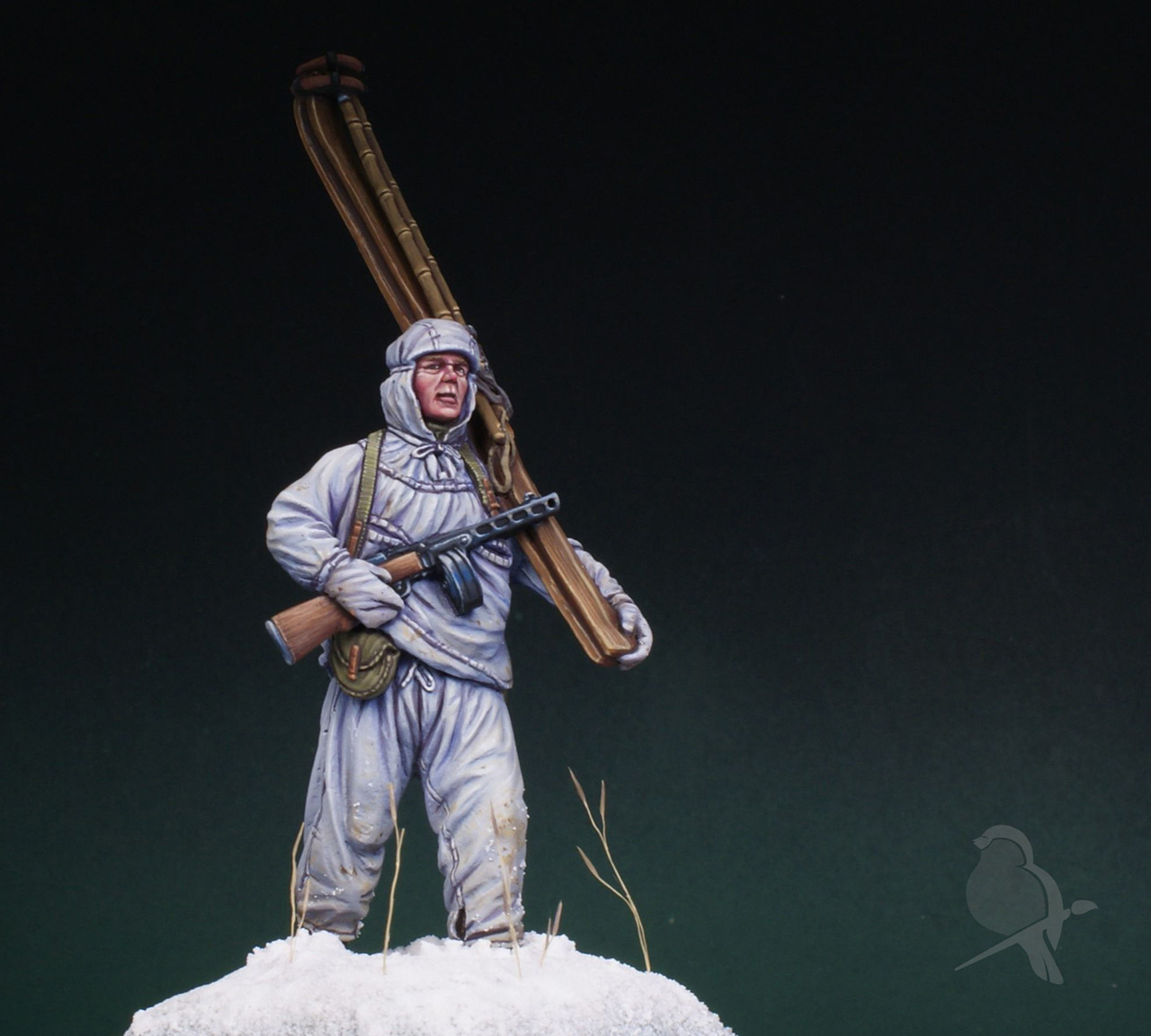 Figures: Soviet ski trooper, photo #1