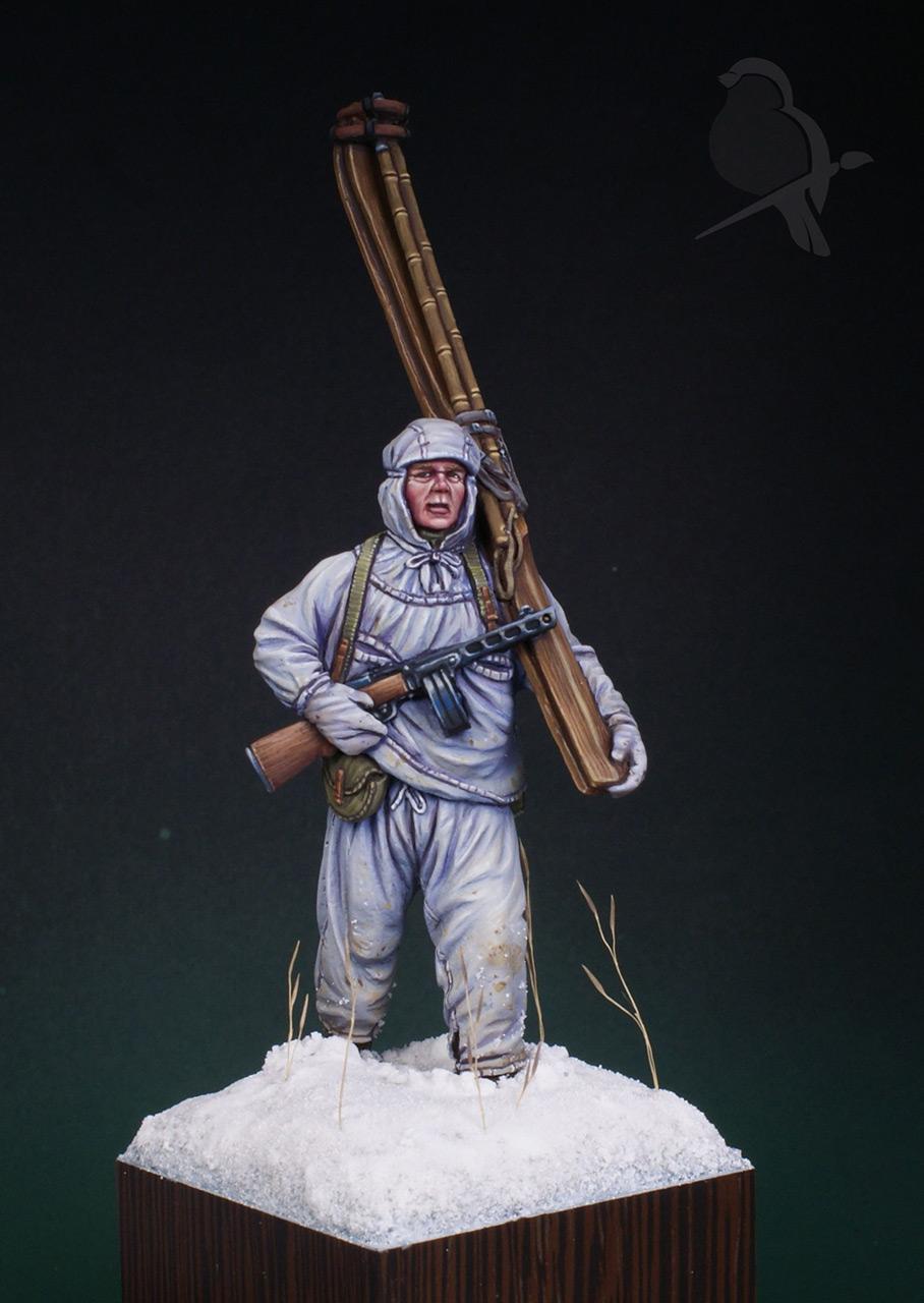 Figures: Soviet ski trooper, photo #2
