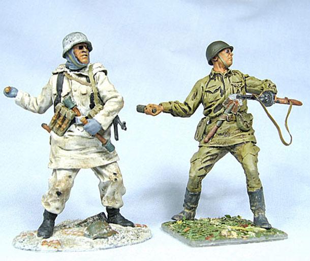 Figures: Grenade Throwers