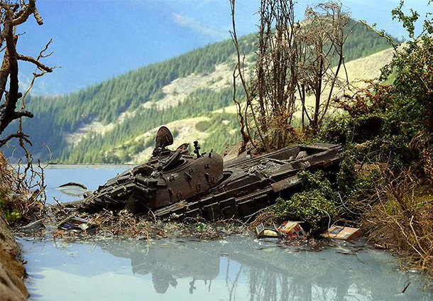 Dioramas and Vignettes: South Ossetia, October 2008