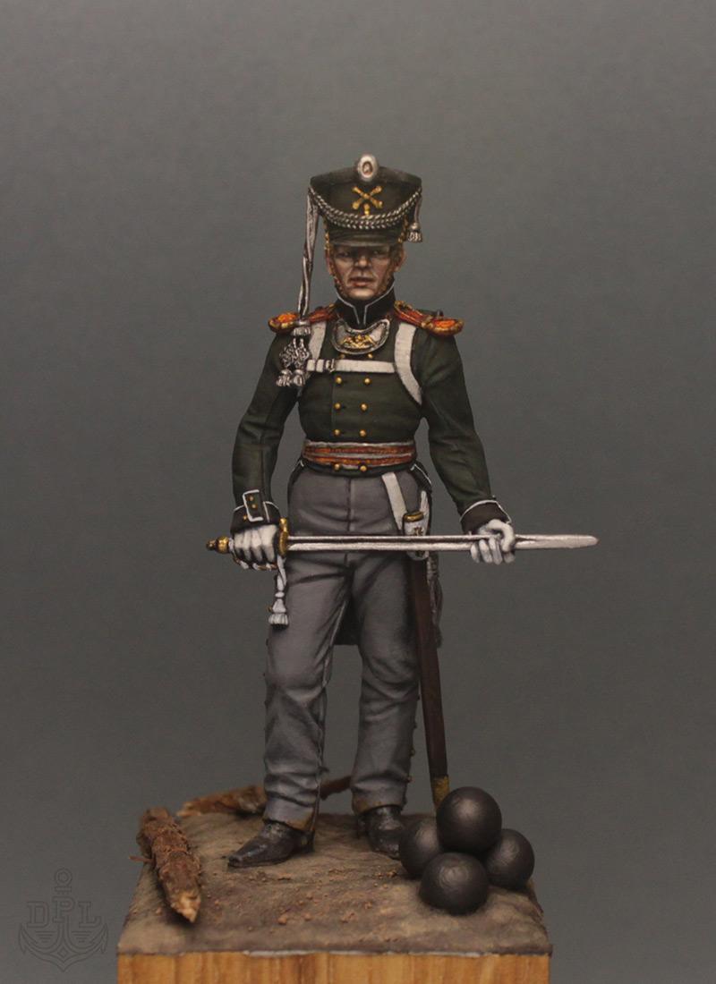 Figures: Lieutenant, marine regt., 1813-15, photo #1