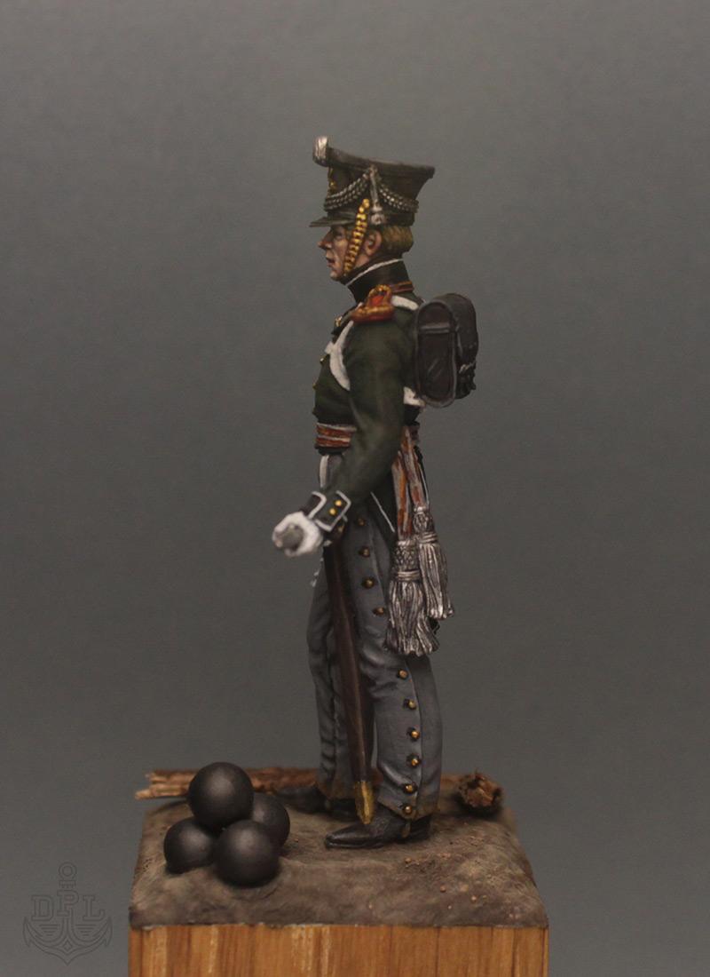 Figures: Lieutenant, marine regt., 1813-15, photo #3
