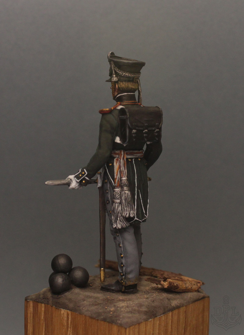 Figures: Lieutenant, marine regt., 1813-15, photo #4