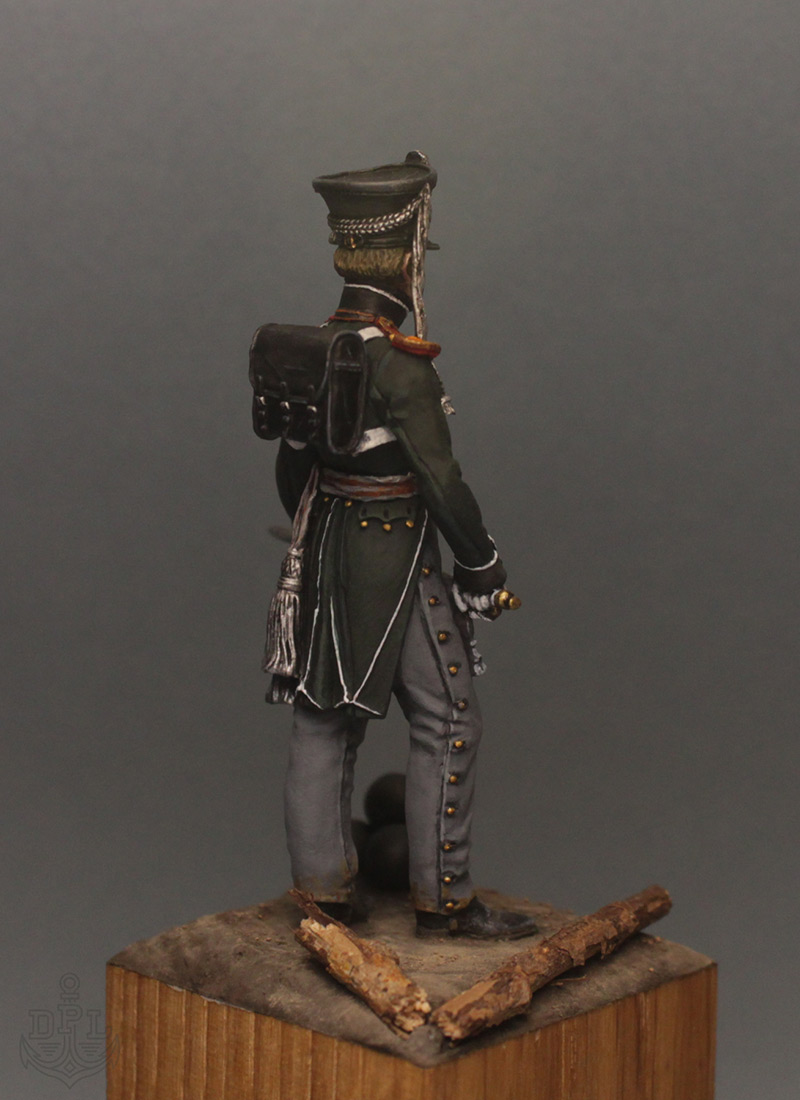 Figures: Lieutenant, marine regt., 1813-15, photo #6