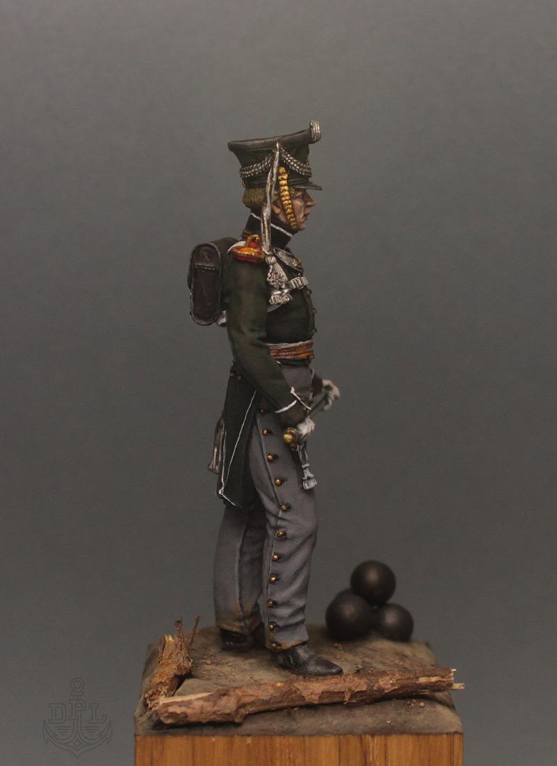 Figures: Lieutenant, marine regt., 1813-15, photo #7