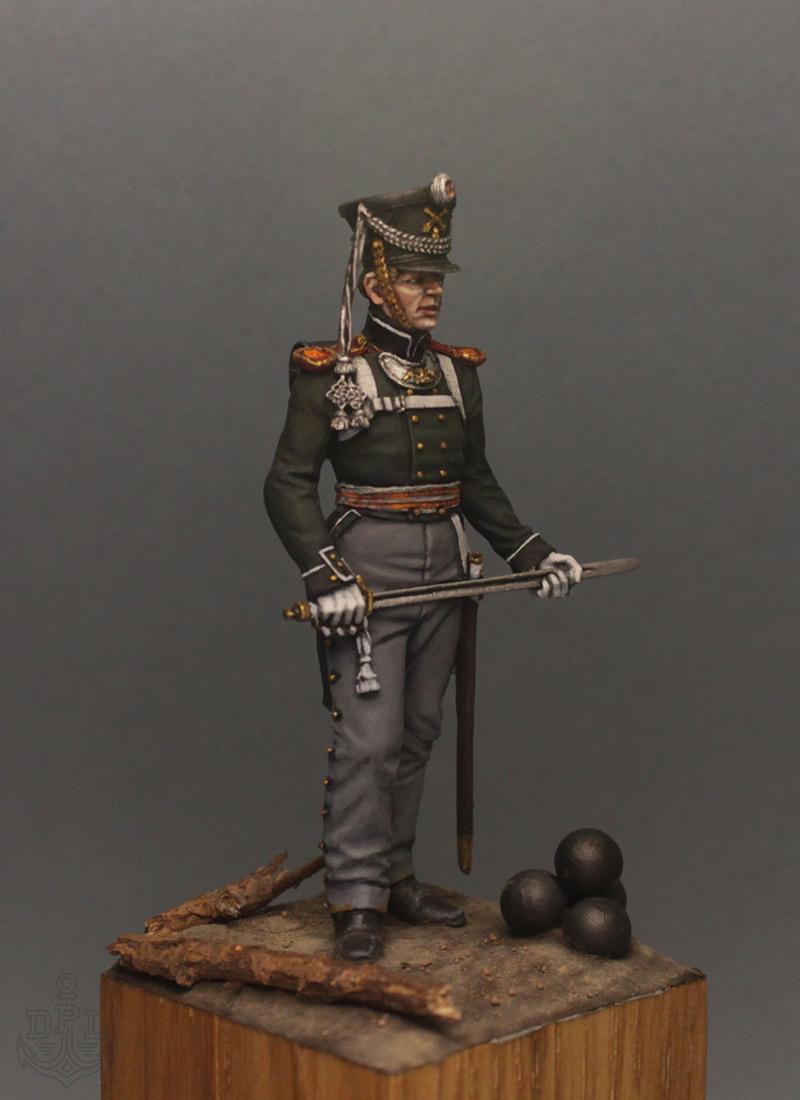 Figures: Lieutenant, marine regt., 1813-15, photo #8