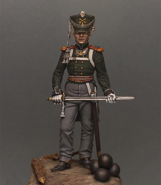 Figures: Lieutenant, marine regt., 1813-15