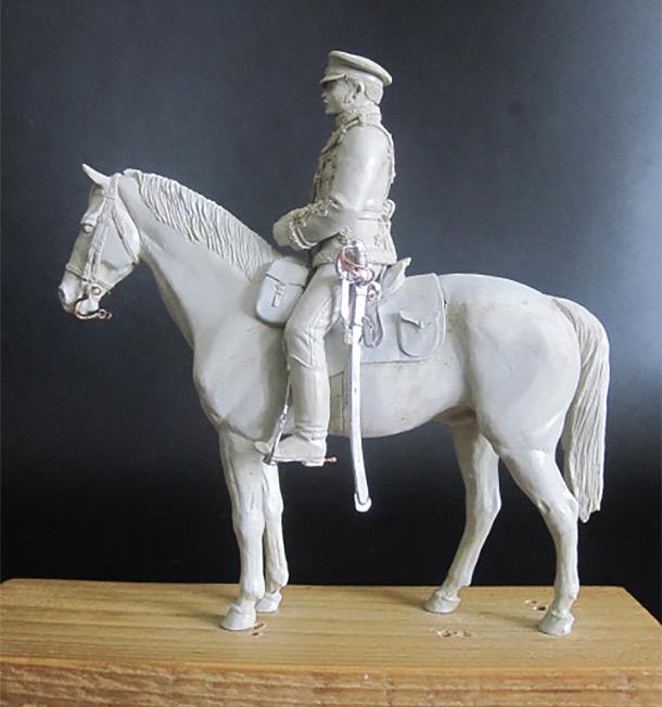 Sculpture: Hussar, 1877