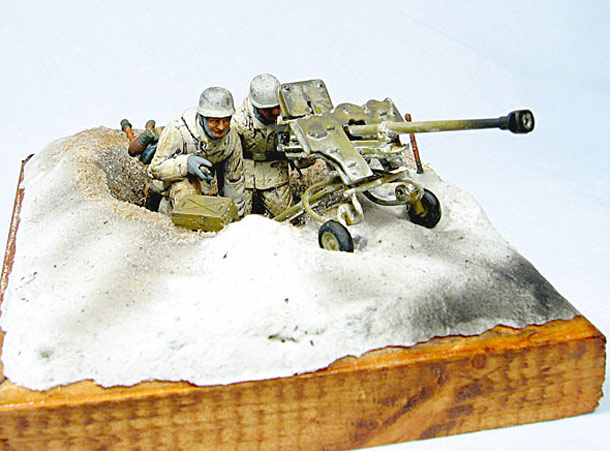 Dioramas and Vignettes: German Anti-tank Team