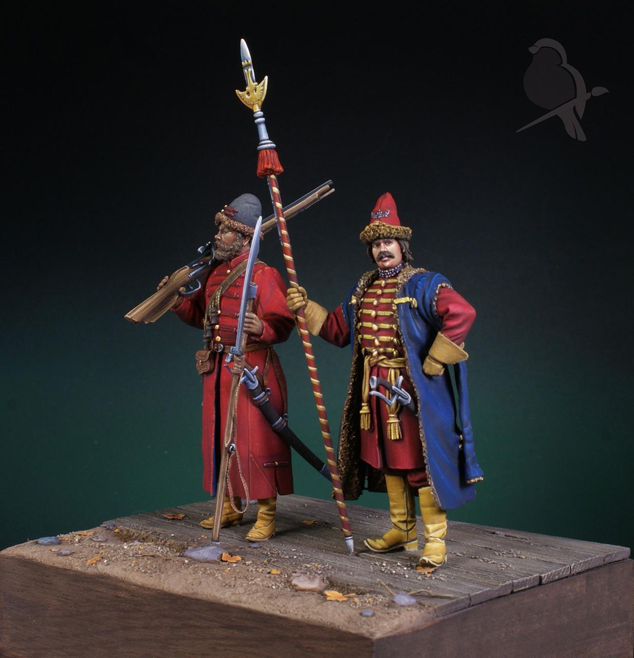 Dioramas and Vignettes: Strelets and Sotnik, 5th Prikaz, photo #2