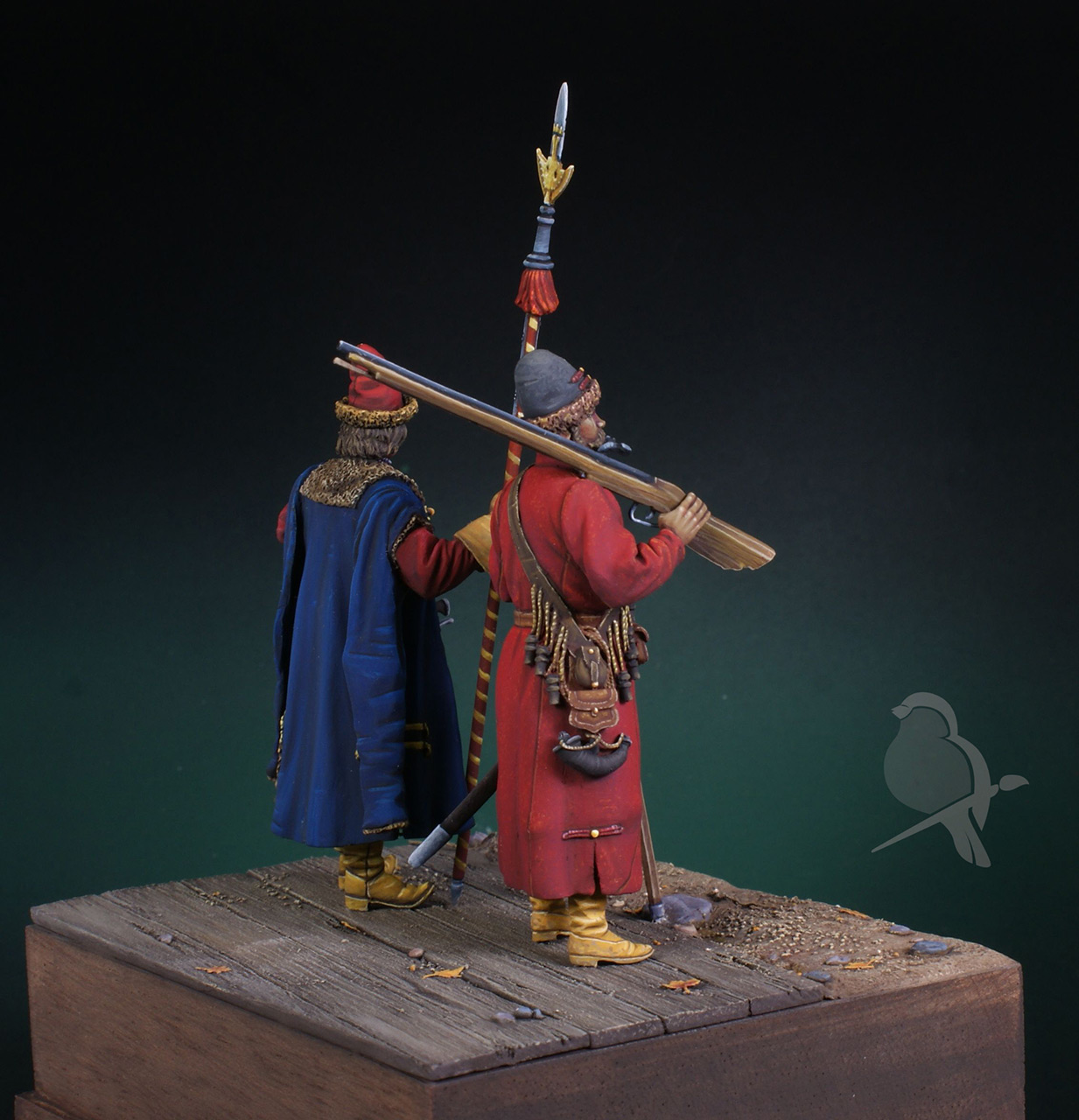 Dioramas and Vignettes: Strelets and Sotnik, 5th Prikaz, photo #4