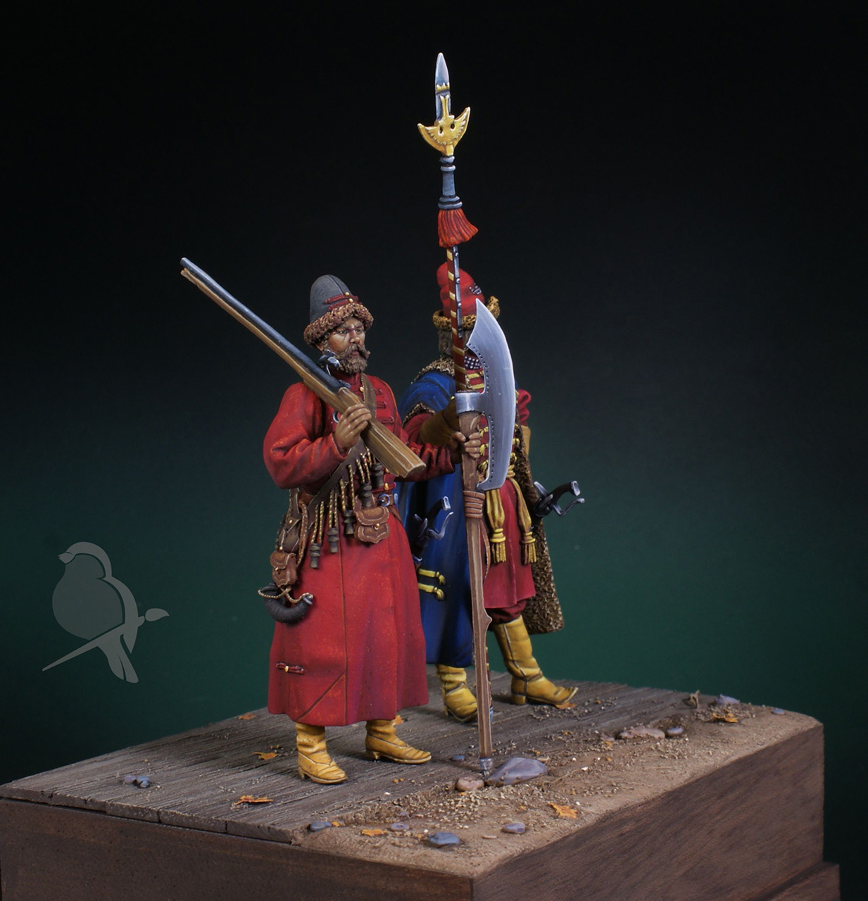 Dioramas and Vignettes: Strelets and Sotnik, 5th Prikaz, photo #5